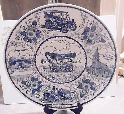 Enco National Harold Warp Pioneer Village Plate, Minden, Nebraska
