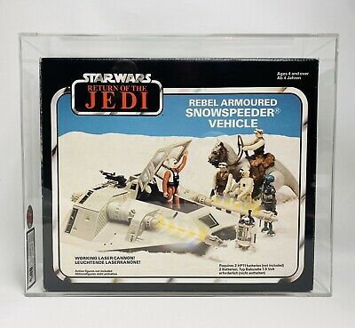 UKG80 Graded Vintage Star Wars Palitoy Snowspeeder Vehicle ROTJ 1983