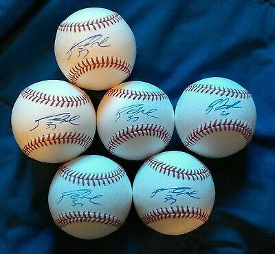 Brandon Moss Royals auto autographed signed romlb Baseball PICK 1