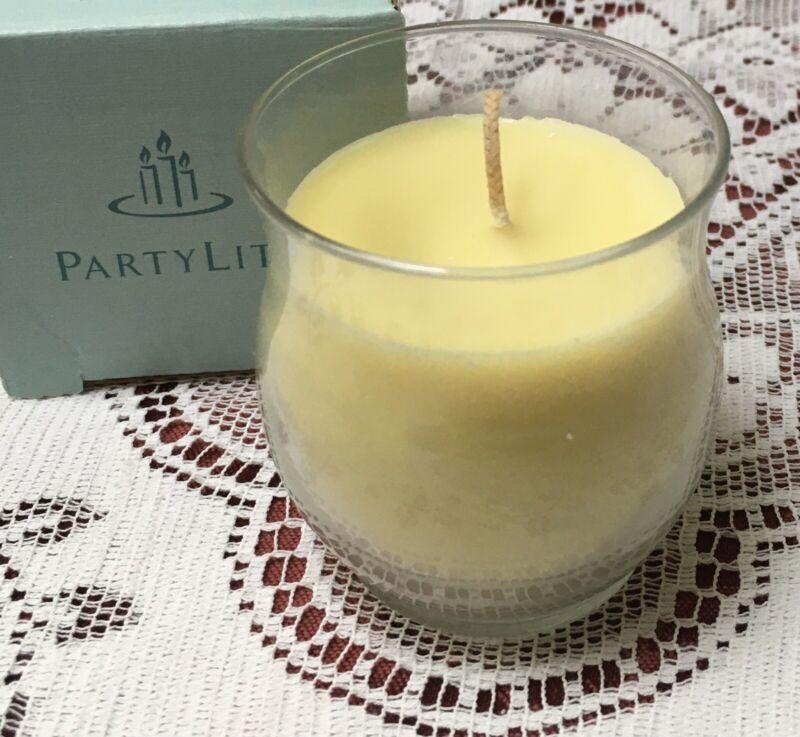 PartyLite PINEAPPLE MELON Bestburn Mini Barrel Jar Candle G33171 New Best Burn