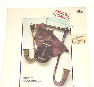 Zadudej, Dudacku- LP - Folk Songs From The Chod Region - Supraphon 1117 3436