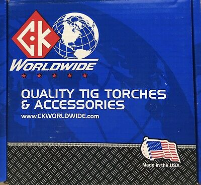 Ck Worldwide 12.5ft 17 Series Superflex Tig Torch With Flex Head Ck17-12-rsf Fx