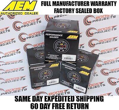AEM X-Series AFR Wideband UEGO Gauge + Boost Pressure + Oil Pressure Gauge Kit