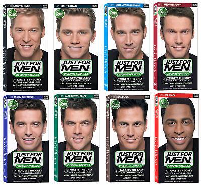 JUST FOR MEN Original Formula Shampoo-In Hair Colour For Natural Look Hair Dye