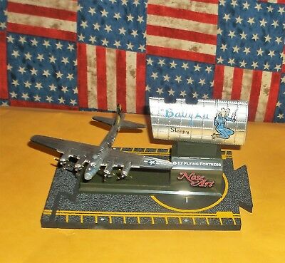 Corgi Nose Art  Boeing B-17 Flying Fortress 'Sleepy Baby Lu' Diecast 14+ Wingspa for sale  Columbus