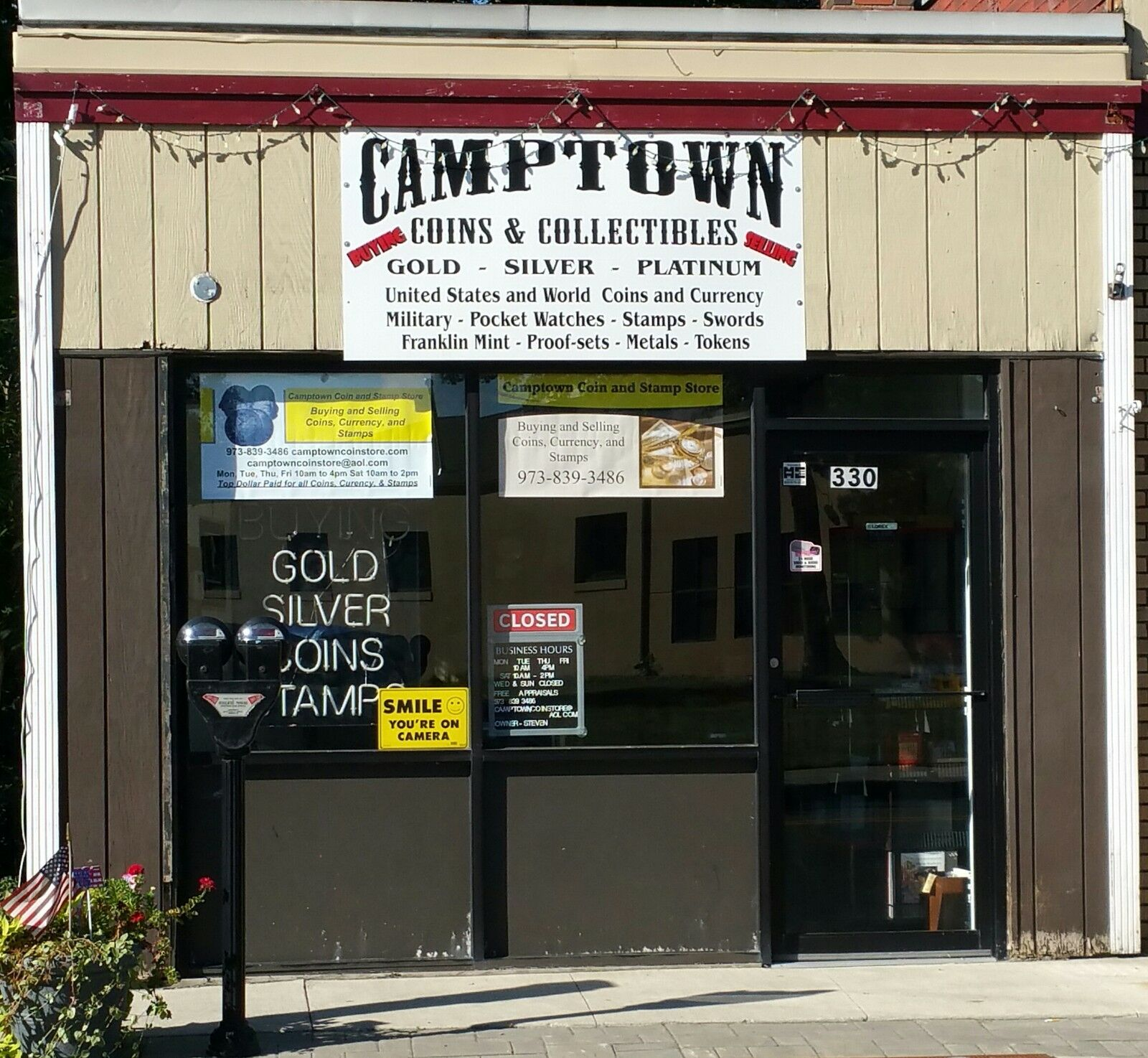 Camptown Coin Store 330 Wanaque Ave