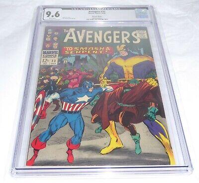 Avengers #33 CGC 9.6 CGC Universal Grade Comic Pedigree Green River White 🔥 💎