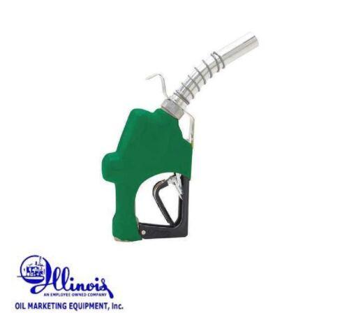 HUSKY 045710N-03 Fuel Nozzle, Diesel, High Flow, 1GS H, Green