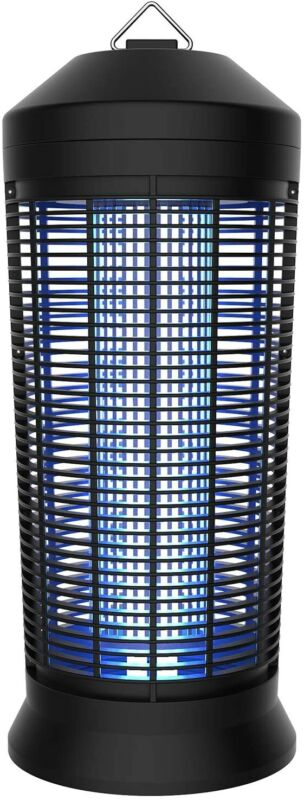 Extra Large Bug Zapper Day/Night, On/Off Light Sensor | Gnat, Fly, Mosquito Trap