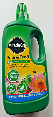 Miracle Gro Pour & Feed Ready to Use Plant Food Liquid 1L