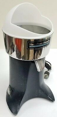 Hamilton Beach Commercial Electric Citrus Juicer Model 1G96700 220-240V ORANGE