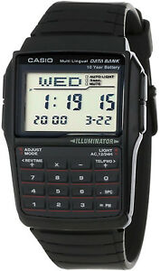 Casio-25-Page-Databank-Calculator-Illuminator-Watch-DBC-32-1A-BRAND-NEW