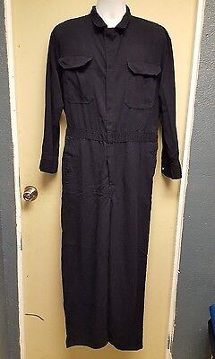 Bulwark Frc Flame Resistant  Navy Coveralls Cmd6