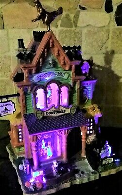 Crypt Halloween Costume (NEW RETIRED Lemax Spooky Town AGATHA'S COSTUME CRYPT #75494,)