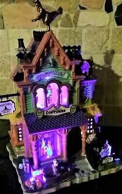 NEW RETIRED Lemax Spooky Town AGATHA'S COSTUME CRYPT #75494, Halloween](Spooky Costumes)