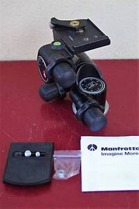 Manfrotto 410 Geared head + 410PL + Gitzo adapter +Bag,ship $16 Noble Park Greater Dandenong Preview