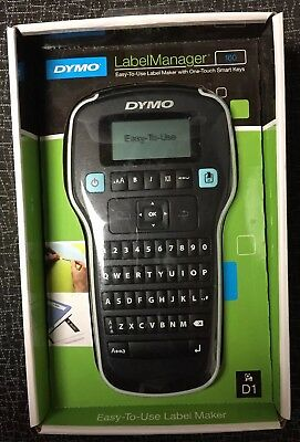 Dymo Labelmanager 160 Handheld Label Maker Free Shipping New