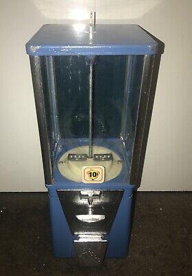 OAK Acorn Gum 10 Cent DIME Astro Vista 300 CANDY Vending Machine w LOCK + KEY