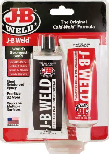 J-B Weld 8281 Professional Size Steel Reinforced Epoxy Twin Pack - 10 oz.