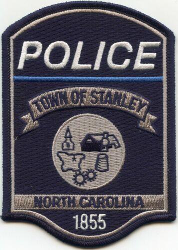 STANLEY NORTH CAROLINA NC Thin Blue Line POLICE PATCH