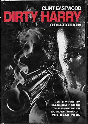COMPLETE DIRTY HARRY, MAGNUM FORCE, THE ENFORCER, Clint Eastwood New 5 FILM DVD!