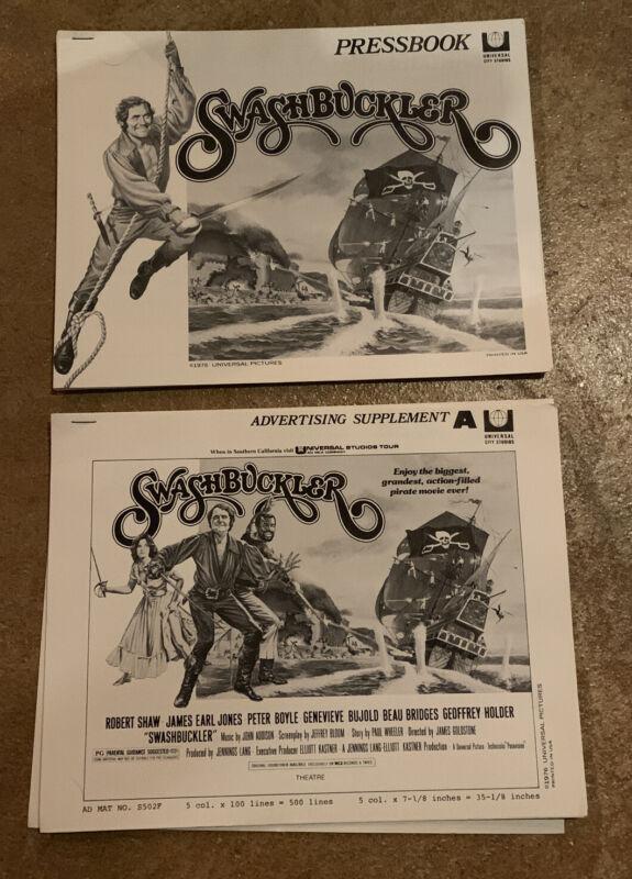 Swashbuckler Pressbook & Advertising Supplement