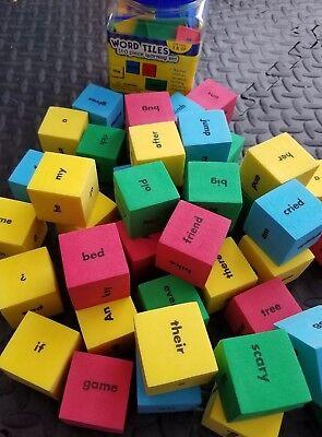 Lakeshore Learning Hands-On Sentence Building Cubes & Tile Bundle Homeschool L25