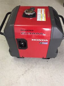Honda Generator Inverter EU3000is 3000 watts