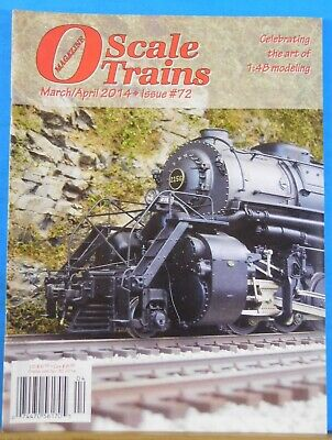 O Scale Trains #72 2014 March April Vertical Scenery for sale  Shipping to United Kingdom