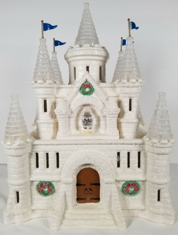 DEPARTMENT 56 SNOW CARNIVAL ICE PALACE SNOW VILLAGE 54850