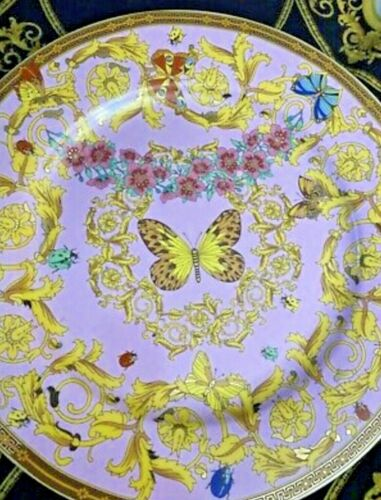 LE JARDIN BUTTERFLY CHARGER PLATE ROSENTHAL New Discontinued