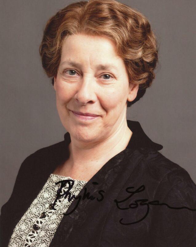 "Phyllis Logan ""Downton Abbey"" AUTOGRAPH Signed 8x10 Photo C ACOA"