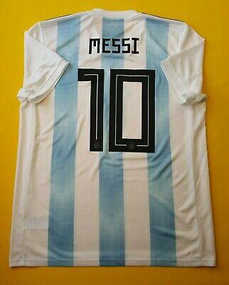d10ab14d8af 5+ 5 Messi Argentina soccer jersey large 2018 shirt BQ9324 football Adidas  ig93