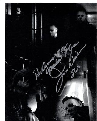 JAMES WINBURN signed Autogramm 20x25cm HALLOWEEN in Person autograph MYERS](James Winburn Halloween)