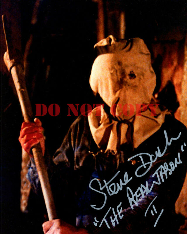 STEVE DASH signed autograph FRIDAY THE 13 8x10 JASON VOORHEES reprint