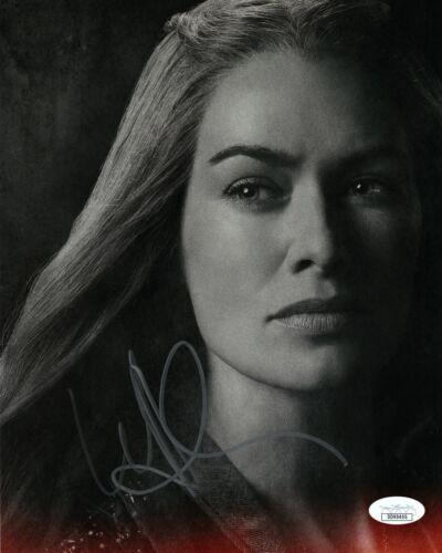 Lena Headey Game of Thrones Autographed Signed 8x10 Photo JSA COA EF712