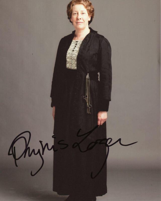 "Phyllis Logan ""Downton Abbey"" AUTOGRAPH Signed 8x10 Photo B ACOA"