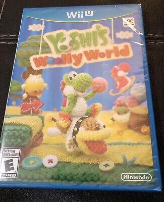 Yoshi's Woolly World Nintendo Wii U *BRAND NEW / Sealed*