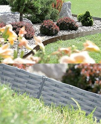 Beeteinfassung Gartenpalisade Raseneinfassung Rasenkante Beetumrandung Garten