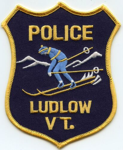 LUDLOW VERMONT VT POLICE PATCH