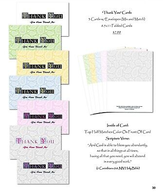 NEW! 7-Pack Variety (Large) Cards w/ Envelopes-