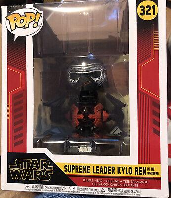 Funko Pop! Deluxe Star Wars The Rise of Skywalker Supreme Leader Kylo Ren #321