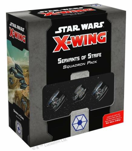 Servants of Strife Squadron Pack Star Wars: X-Wing 2.0 FFG NIB