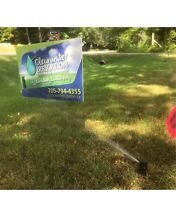 Sprinkler irrigation install, repair, maintenance, winterizing