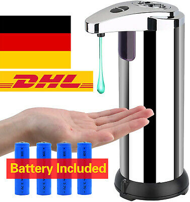 Desinfektionsmittelspender Infrarot Automatik Seifenspender mit Sensor DE STOCK