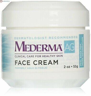 Mederma AG Face Cream 2 oz Removes the dead skin cells from sun damaged skin     Mederma Skin Care Cream
