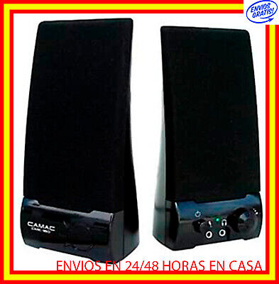 ALTAVOCES ORDENADOR USB 350W MULTIMEDIA PC DVD CD PORTATIL AMPLIF 10W Jack...