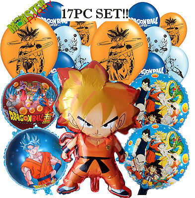 CUSTOM DRAGONBALL ORDER Birthday Party Supplies BALLOON  SUPPLIES DECORATION
