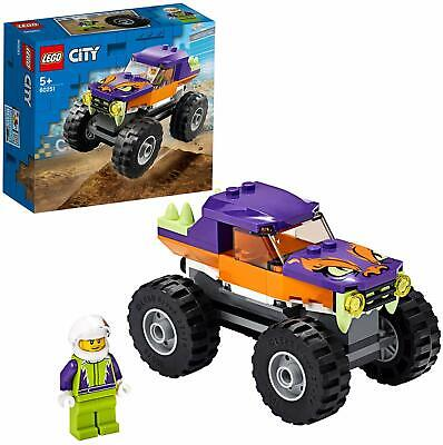 LEGO 60251 City Great Vehicles Monster Truck Sturdy Robust Building Toy Playset