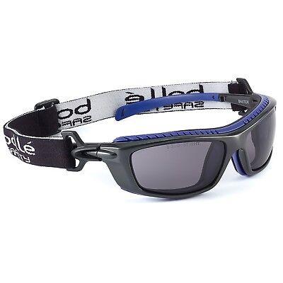 Bolle Baxter Safety Glasses With Smoke Anti-fog Lens Black Frame